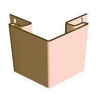 Внешний угол для сайдинга Döcke (Дёке) цвет Персик