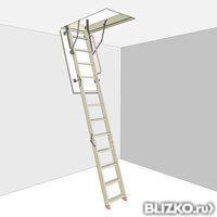 Чердачная лестница D-STEP COMFORT (Комфорт) 60х120х280 см