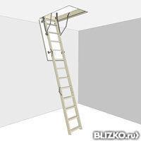 Чердачная лестница D-STEP STANDARD (Стандарт) 60х120х280 см