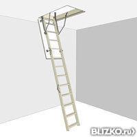 Чердачная лестница D-STEP STANDARD (Стандарт) 70х120х280 см