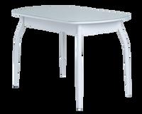 Стол Гала-1 раздвижной (стекло мат.) 700*1100 (1400) эмаль