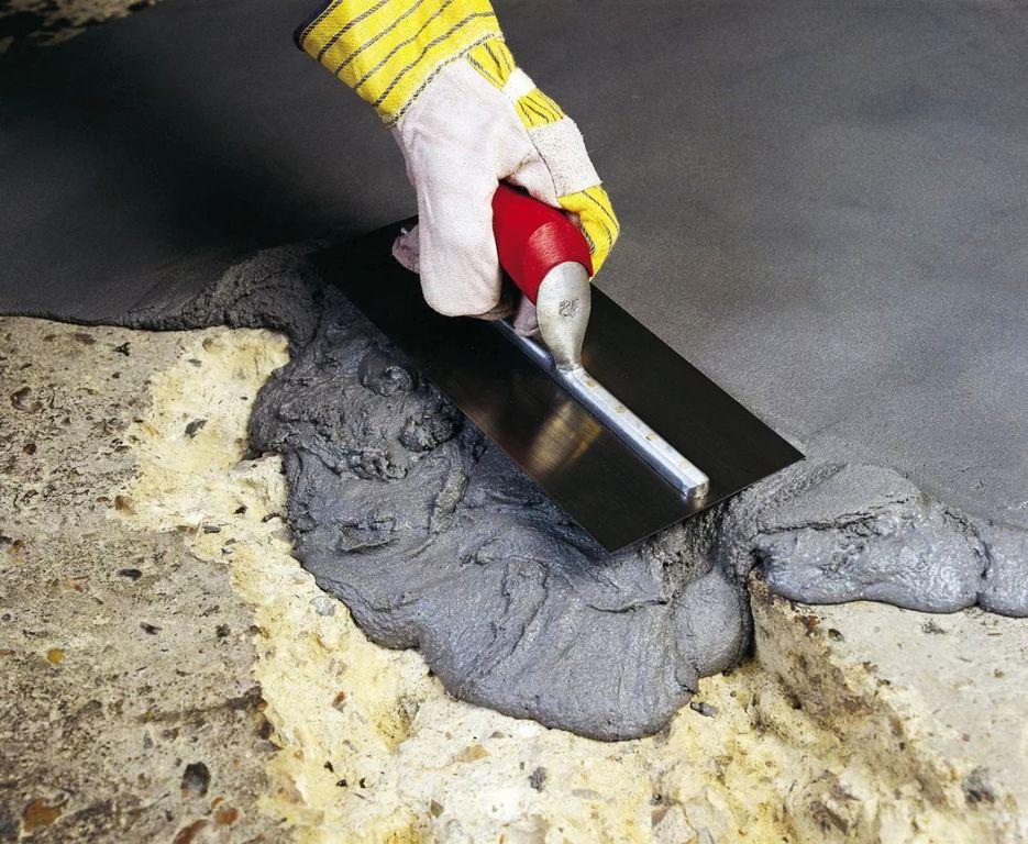 материалы для ремонта бетона