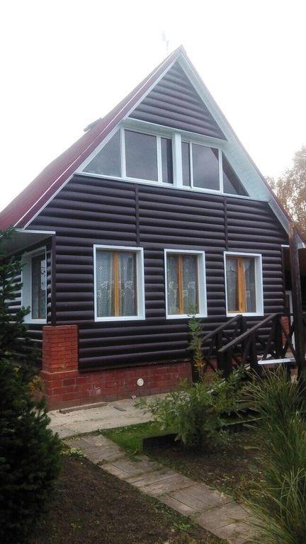 Блок хаус фото дома шоколад